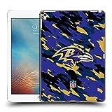 オフィシャル NFL カモフラージュ ボルティモア・レイブンズ ロゴ iPad Pro 9.7 (2016) 専用ハードバックケース
