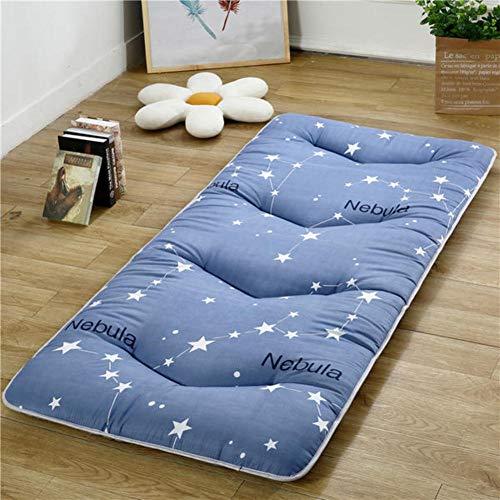 JY&WIN Student Schlafsaal Zusammenlegbar Matratze,futon Portable Schlafen Pad Tatami Bodenmatratze Für Home Camping Yoga-c Zwilling