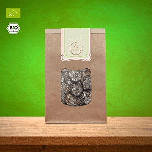 süssundclever.de® Bio Pflaumen | 500g | getrocknet | plastikfrei und ökologisch-nachhaltig abgepackt