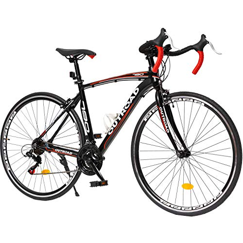 Max4out Aluminum Alloy Frame 700C Wheel Road Bike