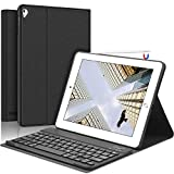 SENGBIRCH iPad Teclado Funda, Funda con Teclado Español para iPad 2018(6th Gen)/iPad...