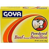 GOYA Powdered Beef Flavored Bouillon ゴーヤビーフフレーバーブイヨン80g x 3個 [並行輸入品]