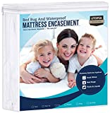 Best Mattress Covers - Utopia Bedding Zippered Mattress Encasement - Waterproof Mattress Review