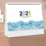 FFAA 2021 Calendario de Escritorio Calendario Adornos de Escritorio