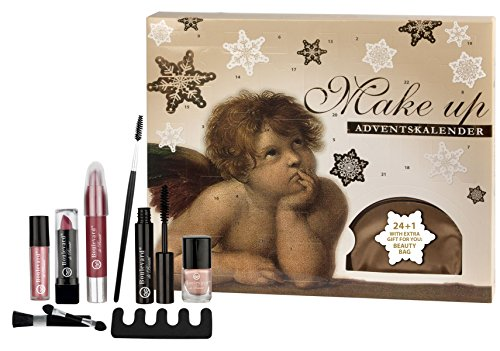 Angelic Beauty Make-Up Calendar 24 + 1 - Beauty-Adventskalender mit extra Kosmetiktasche als Geschenk - von Boulevard de Beauté