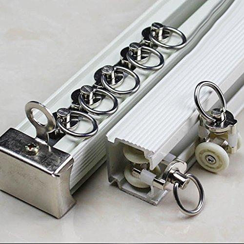 D DOLITY 10 Stück Gardinenröllchen Gardinen Schienen Röllchen Zubehör 26mm