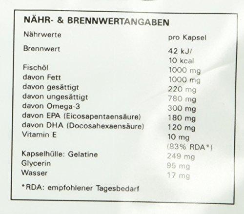 Syglabs Nutrition Omega 3, 500 Kapseln, 1er Pack (1 x 684 g) - 3
