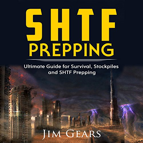 SHTF Prepping audiobook cover art