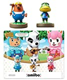 Animal Crossing Series 3-Pack Amiibo (Animal Crossing Series) - Mr. Resetti - Kapp'n Amiibo Bundle for Nintendo Switch - 3DS - Wii U (Bulk Packaging) (Renewed)