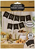 make your own banner kit - Amscan Party Supplies Customizable Chalkboard Paper Pennant Banner, 15ft, Multi Color