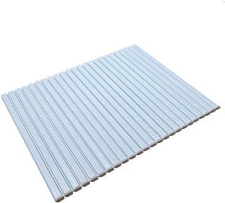 東プレ シャッター式風呂ふた ブルー 70×81cm M8