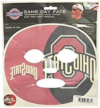 NCAA Oregon State Beavers Game Day Face Temporary Tattoo Large