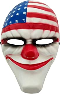 CosplayLife Payday Dallas Halloween Plastic Mask