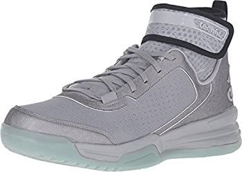 adidas Dual Threat Mens Basketball Shoes 6.5 Light Onix/Black/White