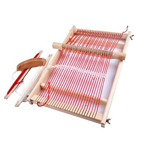Webrahmen Set, Holzwebstuhl DIY Multifunktional Weaving Loom Kit Holzwebrahmen...