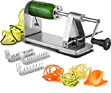 Best Zoodle Makers - MITBAK Stainless Steel Spiralizer Vegetable Slicer | Industrial-Grade Review