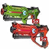 Light Battle Set, 5x Rot & 5x Grün
