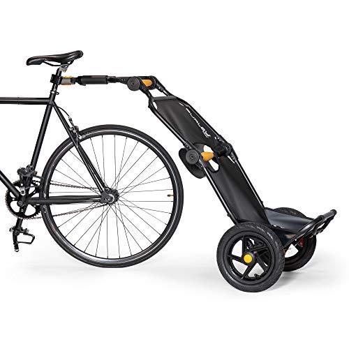 バーレー(Burley) サイクルトレーラー キャリア トラボーイ(TRAVOY) V2(2020年モデル) ブラック