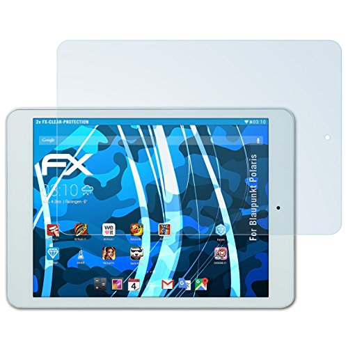 atFolix Schutzfolie kompatibel mit Blaupunkt Polaris Folie, ultraklare FX Bildschirmschutzfolie (2X)