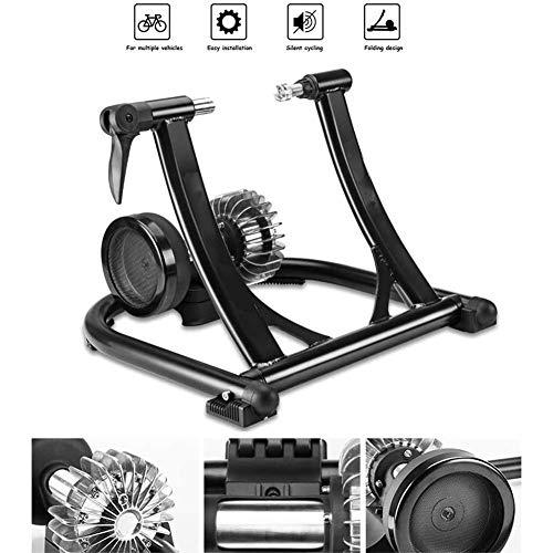 SLRMKK Bicicleta Turbo Trainer, Indoor Bike Trainer Stand Home Training Plegable Resistencia...