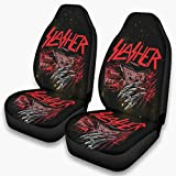 LAFROABC Fred-dy Horror Front Bucket Car Seat Covers Front Bucket Seat Protector Accessories Scratch-Proof for SUV & Truck White OneSize