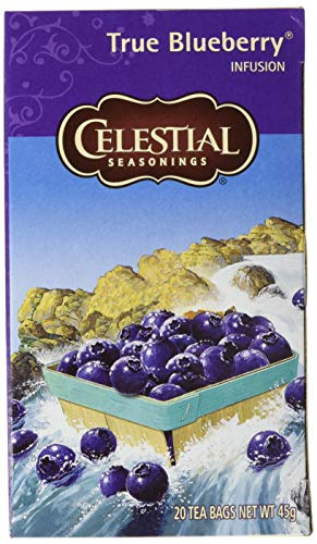 Celestial Seasonings True Blueberry, 6er Pack (6 x 45 g)