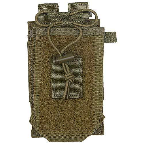 Bolsa de rádio 5.11 compatível com 5,11 bolsas/pacotes/bolsas, estilo 58718, Tac OD, One Size