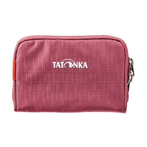 Tatonka Geldbörse Big Plain Wallet - Geldbeutel mit mehreren Kartenfächern und Kleingeldfach - 13 x 9 x 2 cm - Damen und Herren - bordeaux red