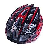 WEZER OTY Casco de Bicicleta de montaña Casco de Ciclismo Ligero Deportes Seguridad Protección Cómodo Casco Ajustable para Hombres/Mujeres