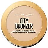Maybelline New York City Bronzer Polvos Bronceadores Mate para Pieles Claras, Tono 100 Light Cool