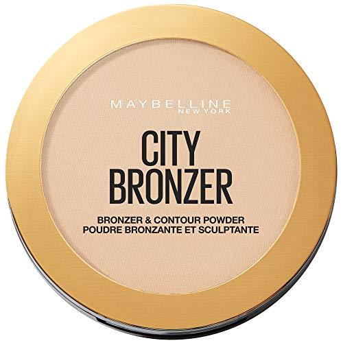 Maybelline Unisex New York Polvere Bronzo n City Bronzer Poudre BRONZANTE LICHT, 100 Light Cool, Standard