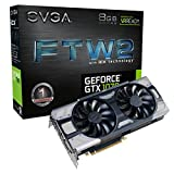 EVGA GeForce GTX 1070 FTW2 GAMING, 8GB GDDR5, iCX Technology - 9 Capteur thermiques&...