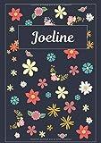 Joeline: Journal | Agenda | Carnet de Notes | 120 pages | A4 | Blanc | Idée Cadeau