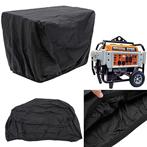 ESSORT Protective Generator Cover, Weather/UV Resistant Outdoor Engine Cover Storage Cover for Portable Generators, 32.5