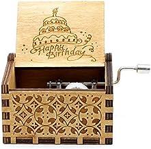 Happy Birthday Classic Mini Wooden Music Box
