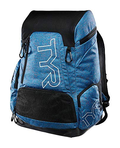 TYR Alliance 45L Backpack-Heather print, blue/pink