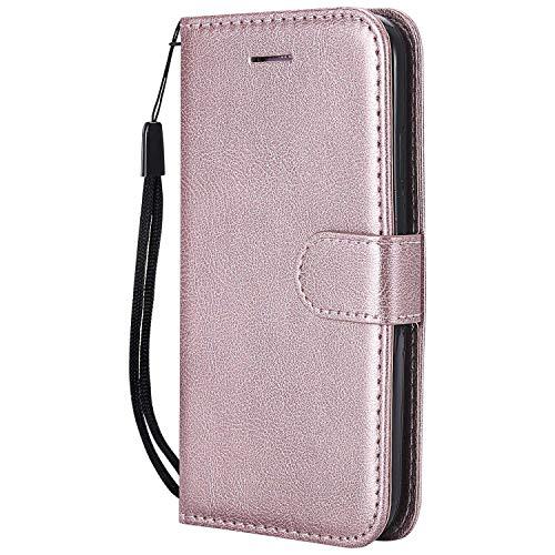 Decdico Schutzhülle für Galaxy A3 2016, PU-Leder, magnetisch, Brieftaschen-Schutzhülle, klassisches Design, TPU, Schutzhülle für Samsung Galaxy A3 2016