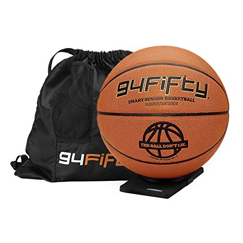 Lowest Price! 94Fifty Smart Sensor Basketball for iPhone and Android (Men's Size 7)