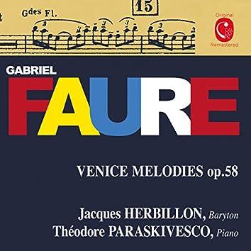 Fauré: Mélodies, Op. 46, 51 & 58