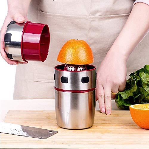 ZWWZ Juicer Machinemanual Juicer de limón, cítricos Juicer Portátil Casa Al Aire Libre Acero...