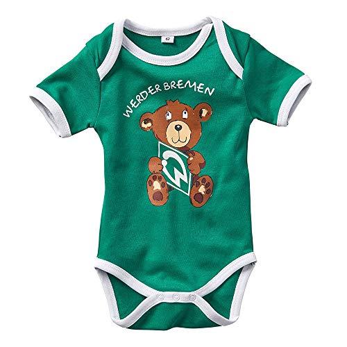 Werder Bremen SV GOTS Baby-Body Teddy Gr. 68