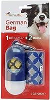 Dispenser de Cata-Caca GermanHart Circulos, Azul e Branco