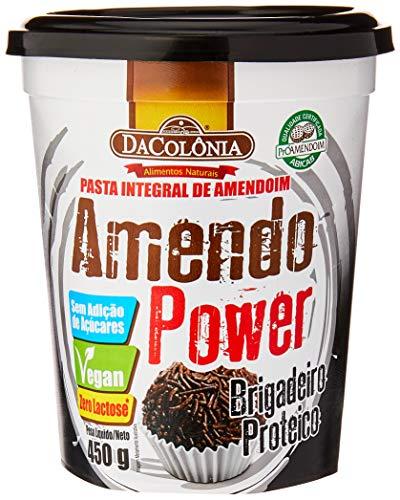 Amendopower Pasta De Amendoim Brigadeiro Proteico Zero 450G