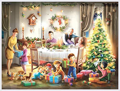 Calendrier de lAvent  Aujourdhui, Cest Noël  : Calendrier de