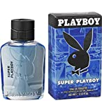 Playboy Super Men Eau de Toilette, pacco da 1 (1 x 60 g).