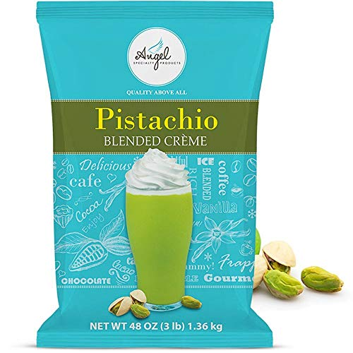 Pistachio Blended Crème Mix by Angel Specialty Products [3 LB]