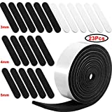 23 Pieces Hat Size Tape Hat Size Reducer Foam Reducing Tape Roll Self Adhesive for Hat Cap