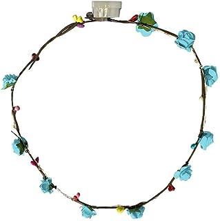 jieGorge Kissen Bezüge Räumungsverkauf,LED Blumenkranz Stirnband Krone Blumengirlande Boho für Festival Hochzeitskranz,Hochzeitskranz für Wohnzimmer Dekoration