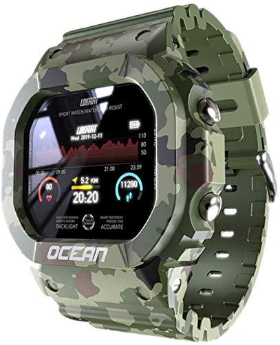 Ocean Smart Watch Hombres s Fitness Tracker Mensaje Presión Arterial Pulsador Monitor Reloj Reloj Inteligente Mujeres para Android Un Exquisito