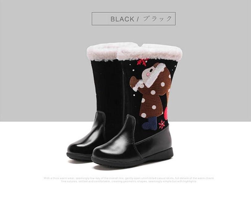 熟練した抵抗する活気づく[マリア] クリスマス ブーツ ガールズ サンタクロース ロングブーツ レディーズ 裏起毛 裏ボアシューズ ロング靴 ギフト プレゼント おしゃれ レッド